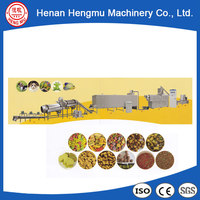 300-500kg/h Stainless steel feed processing equipment pet food extruder machine