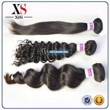 human hair bulk relaxed texture malaysian hair wooden hair stick
