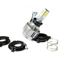 18w M3 led motorcycle light mini type 12 volt led lights motorcycles