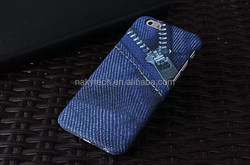 Jeans Pattern Original Luxury Cute PC Brand Phone Shell Skin Cover Case for Samsung Galaxy S4 S5