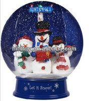 HI CE 2015 latest christmas inflatable snow globe