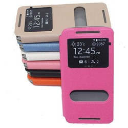 PU leather cell phone case cover for HTC Desire 620