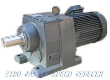 Helical Gearmotor Gear Reducer R Series Conveyor Drive