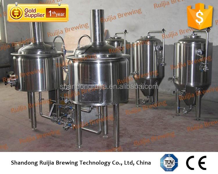 RJ-100L equipamento para fazer cerveja com certificado do CE