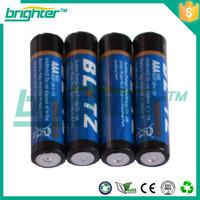 all certificates um-4 aaa r03 dry battery carbon zinc