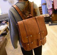 2014 Wholesale school children pu backpack