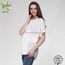 Venta al por mayor del OEM nuevos modelos telas para camisas y blusas para mujeres embarazadas