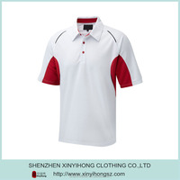 Custom moffat tailored collar mens performance polo shirt