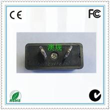 2 flat pin au plug travel charger travel adapter plug
