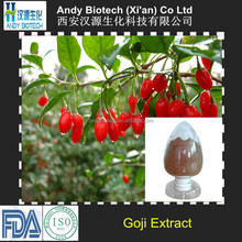 Hot Selling Polysaccharides 10% Natural Goji Berry Extract Powder