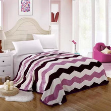 2015 fashion design 100% polyester high quality blanket for adults