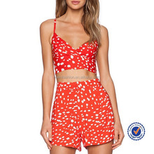 competitive price premium quality bright colour combination suits with top and short