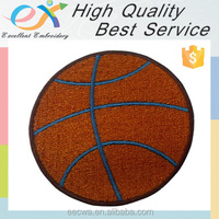Trade Assurance professionally custom 100% embroiderededge iron-on basketball embroidery patch