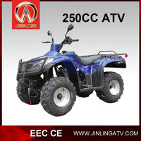 JLA-24-14- 250cc displacement air cooled adult atv quad single cylinder4 stroke different clor high quality cheap price hot sale