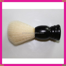 svaniscono manico in legno bianco capelli sintetici pennello da barba ingrosso
