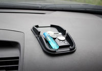 car dashboard accessory mat to charge your phone,colorful hot sale car sticky pad,high quallitycolorful car anti slip mat