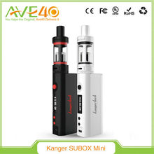 Black and white SUBOX Mini, kanger subox mini starter kit, kangertech wholesale