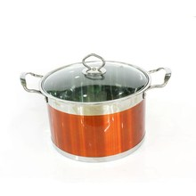 Colorful Enamel Sainless Steel Cookware Pot,Cast Iron Cookware Set