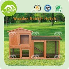 large run wooden rabbit hutch,2 story rabbit hutches,double decker rabbit hutch