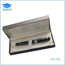 Wedding small gift roller ball pen promotional feature metal gift pen