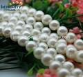 Precio de perla circular de aguan natural de 10-11mm