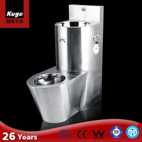 International Quality Best Price Stainless Steel Prison Toilet