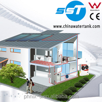 Solar electric systems in china for home use