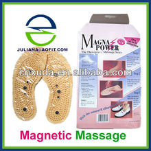 Health Care PVC Magnetic Massage Insoles (English color packing)
