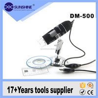 DM-500 500X USB 2.0 Digital Microscope 8 LED Endoscope Magnifier Camera