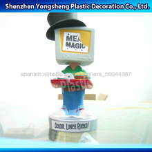 3d plástico carácter de figura monstruo