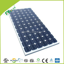 2015 hot sale 200W 210W 190W mono solar panel factory price per watt of solar panel