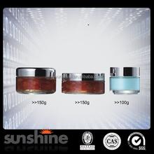 100ml to 150ml empty shaped glass jars