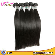 XBL wholesale directly factory price 100 virgin remy malaysian human hair