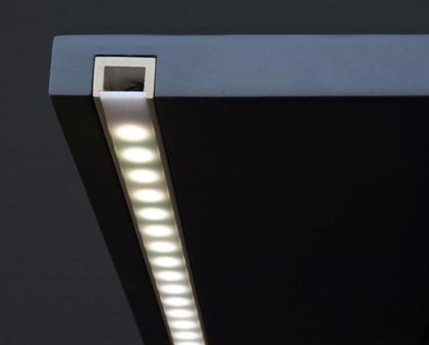 Led profili led estrusione di profili in alluminio led - Strisce led per bordo piscina ...