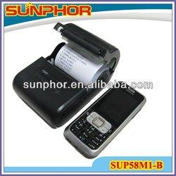 High Speed Printing Mobile Ticket Printer SUP58M1-B