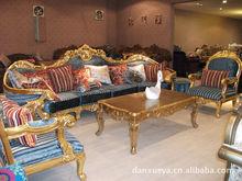 corner antique double sided sofa set furniture danxueya-807#