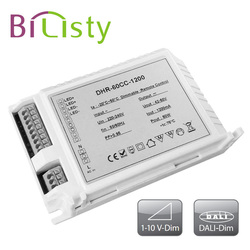 50W constant current 0-10V dimming led driver 1200mA