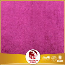 100 Brushed peach skin polyester microfiber fabric direct buy from china factory