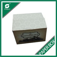 SPECIAL DESIGN PAPER CORRUGATED BOX CHOCOLATE PACKAGING BOXES