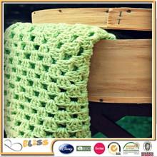 BSCI SEDEX DISNEY factory Reversible Super Soft Minky Handmade Crochet Baby Blankets