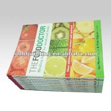 Cooking book printing with soft cover or hard cover