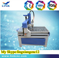 Jinan Link brand LXM0609 T-slot table with 2 years warranty period 3d cnc stone sculpture machine