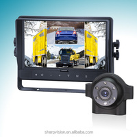 9 inches Digital car audio system with reverse camera