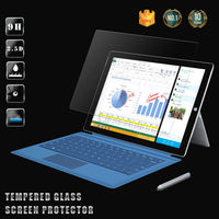 Professional custom all kinds of laptops screen protector for Microsoft Surface 3 tempered glass screen protector