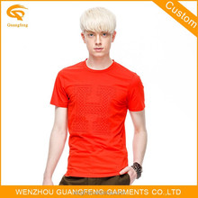 Wholesale Man Organic Cotton Printed T Shirts