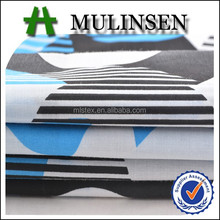 Mulinsen Textile Woven poly cotton fabric 45s T/C Printed Fabric for bed sheeting