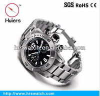 stainless steel automatic mechanical men black watch