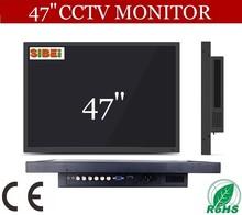wide screen VGA DVI dual input super clear 47 inch led computer monitor