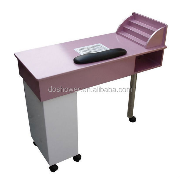 wholesale modern design salon furniture table for manicure