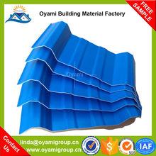 Material de construcción entrega rápida de plástico techos para la fábrica